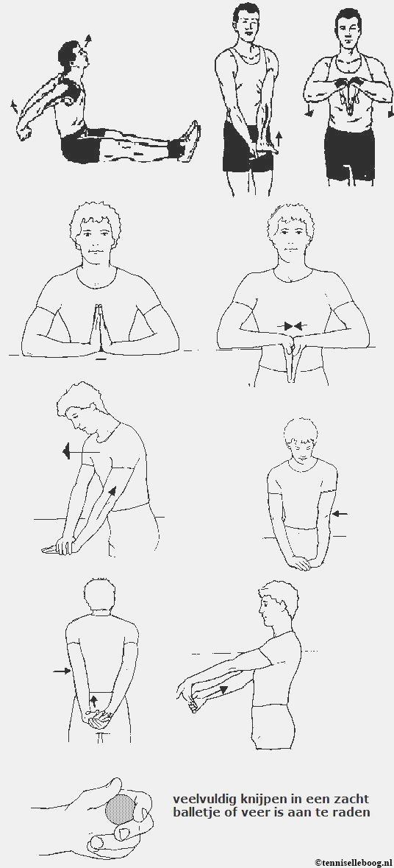 Übungen für den Tennisellenbogen